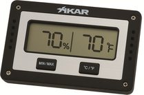 Xikar digitala humidor hygrometer rektangulär