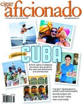Cigar Aficionado tidning- maj/juni 2015