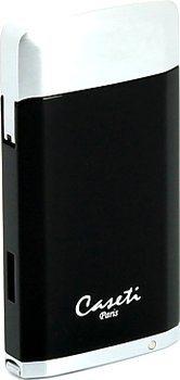 Caseti tändare svart/krom
