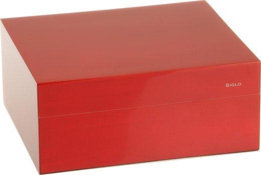 Siglo Humidor S storlek 50 röd