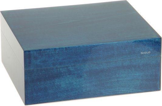 Siglo Humidor S storlek 50 blå