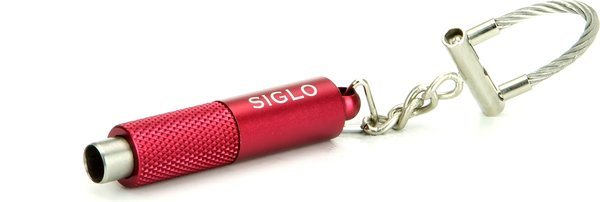 Siglo Nyckelring Snoppare metalliskt röd