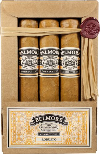 Tabacalera Von Eicken (Charles Fairmorn) Belmore Red Seal Connecticut Robusto 3er Sleeve