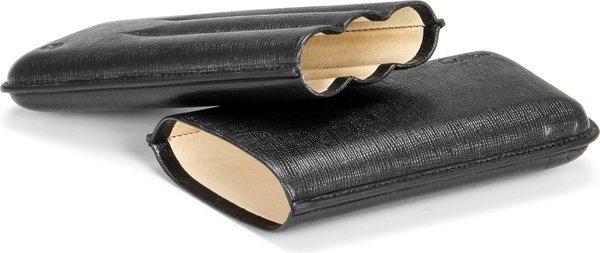 Colibri Corona Läder cigarrfodral Svart på Svart