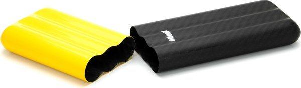 Adorini Carbon Väska för 3 Coronas Gul/Svart