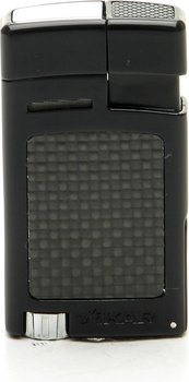 Xikar 523BKCF Forte Tändare svart kolfiber