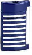 ST Dupont Minijet tändare 10105 - Marinblå och vita ränder