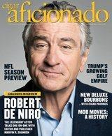 Cigar Aficionado tidning Sept/Okt 2015
