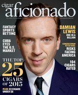 Cigar Aficionado tidning Jan/Feb 2016