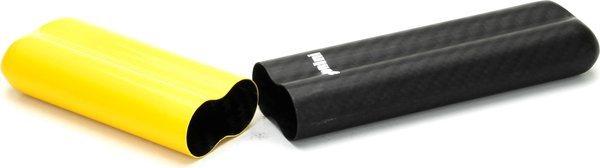 Adorini Carbon Väska för 2 Coronas Gul/Svart