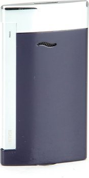 ST Dupont Slim 7 tändare blå och krom
