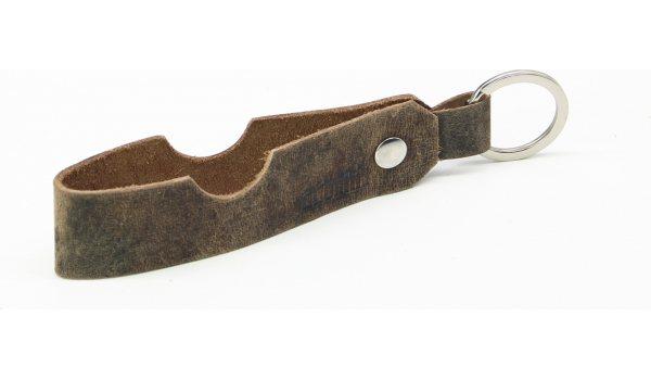 Adorini cigarr- & pipstöd läder nyckelring