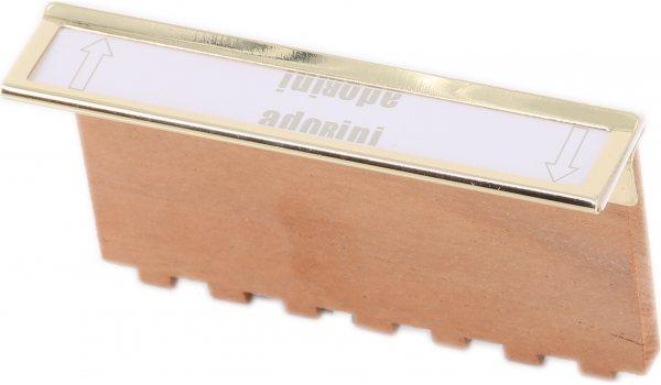 Adorini Etikettclip Metall