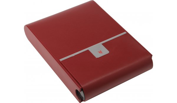 HF R Travel 10 röd resehumidor