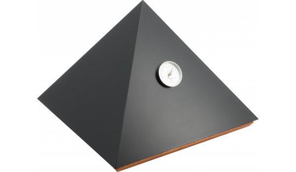 Adorini Humidor Pyramid Deluxe M Svart