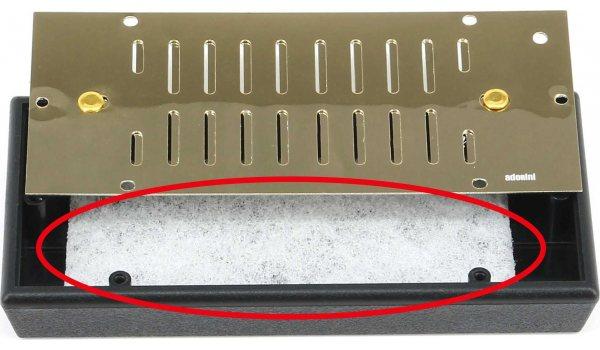 ersättare akrylpolymer fleece för Adorini Deluxe fuktare