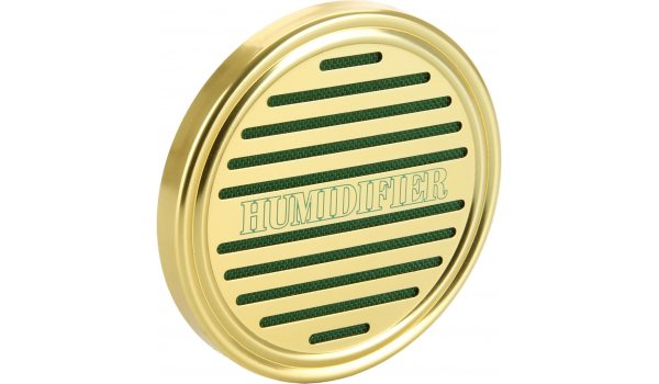 Svamp-Humidifier Rund Guld