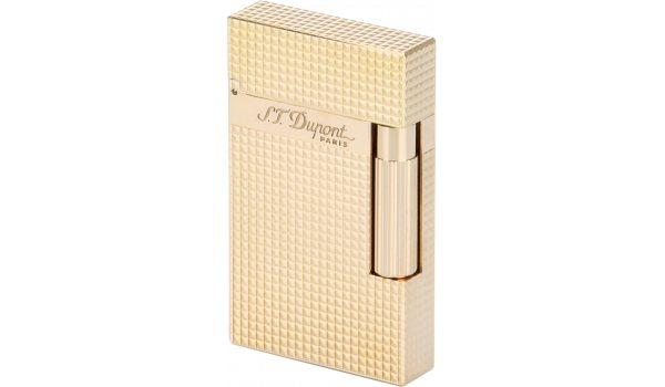 S.T. Dupont Ligne 2 16424 rosaguld diamanthuvudsmönster tändare