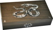Elie Bleu Mother-of-Pearl Snake begränsad utgåva Humidor Grey (Numrerade 1-8)