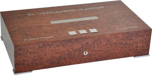 Elie Bleu Nytt Medal Humidor 110-Cigarrer Bubinga