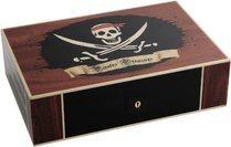 Elie Bleu Pirate Treasure begränsad utgåva Humidor 110 Cigarrer