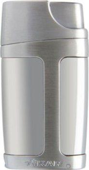 Xikar tändare Element Double Jet - silver