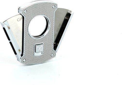 Colibri Slice Cigarrsnoppare silver/kol 24 mm