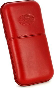 Romeo y Julieta leather cigar case for 3 cigars