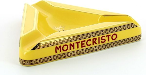 Montecristo askkopp triangulär