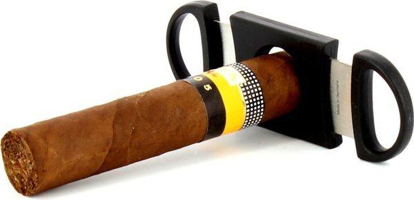Svart Zino cigarrsnoppare med dubbla giljotinblad bild 8