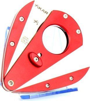 Xikar 1 dubbelbladad snoppare - Xi1 röd