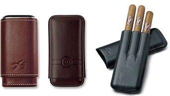 Cigarrlådor I Läder